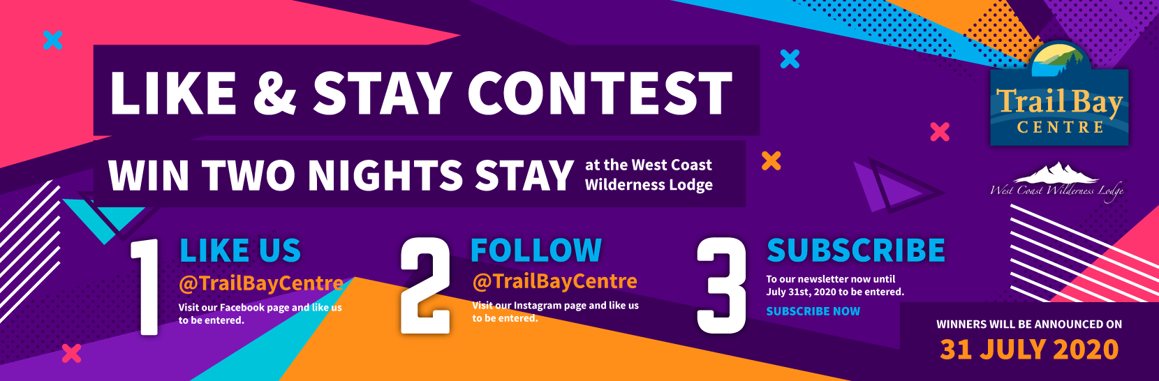 Like and win two night stay contest