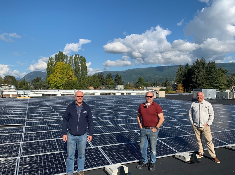'Massive' solar array on Claytons a B.C. first