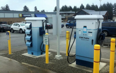 New 50kw Electric Vehicle Charging Stations